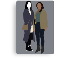Joan and Abbie - Elementary/Sleepy Hollow Canvas Print