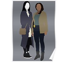 Joan and Abbie - Elementary/Sleepy Hollow Poster
