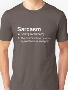 Funny Sarcasm Definition Unisex T-Shirt