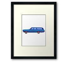 1965 Plymouth Fury I Framed Print