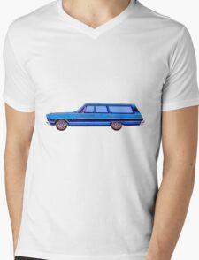 1965 Plymouth Fury I Mens V-Neck T-Shirt