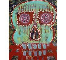 Primitive Skull Photographic Print