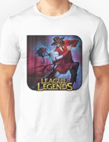 League of Legends Evelynn Twisted Fate Tango T-Shirt