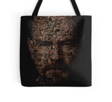 Walter White, Typographic Man of Chemistry Tote Bag
