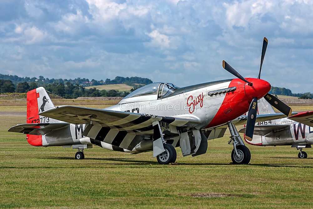 """P-51D Mustang 44-72773 G-CDHI """"Susy"""" by Colin Smedley"""