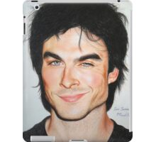 Portrait Drawing Print of Ian Somerhalder iPad Case/Skin