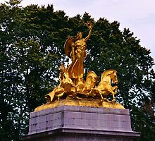 The Maine Monument in Central Park by VDLOZIMAGES
