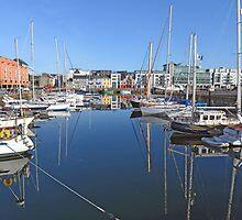 Galway Harbour, Ireland by JoeTravers