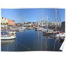 Galway Harbour, Ireland Poster