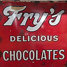 Vintage Signage (Fry's Chocolates) by JoeTravers