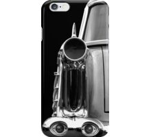 Rear (black&white) iPhone Case/Skin