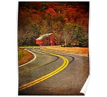Long and Winding Road Poster