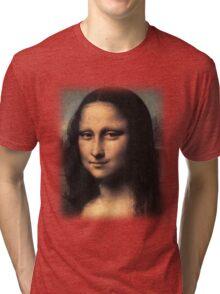 Da Vinci - Mona Lisa Tri-blend T-Shirt
