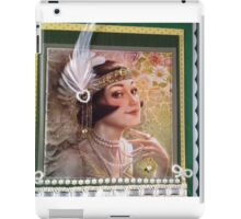 Vintage Greeting Card Art for all occasions iPad Case/Skin