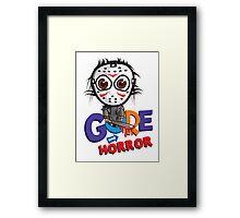 Gore and Horror Framed Print