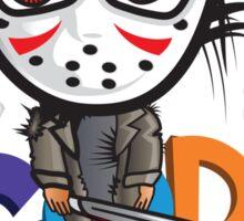 Gore and Horror Sticker