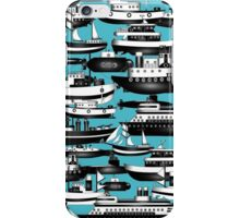 SPLASHYARTYSTORY - ALL ABOUT BOATS iPhone Case/Skin