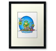 Swamp Earth Day Framed Print