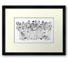 Muppeteers Framed Print