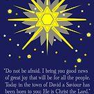 staryy sky & crosses (luke 2:10-11) by dedmanshootn