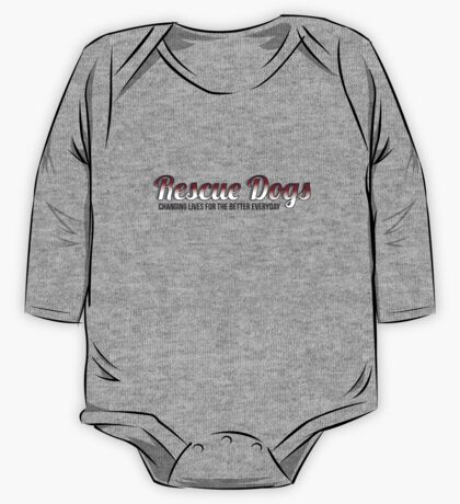 Rescue Dogs One Piece - Long Sleeve