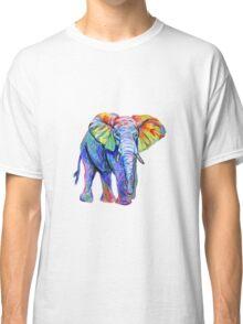 Rainbow Elephant Classic T-Shirt
