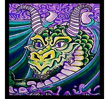 dragon close up (square) Photographic Print