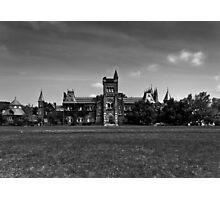 University College Main Building Toronto Canada Photographic Print