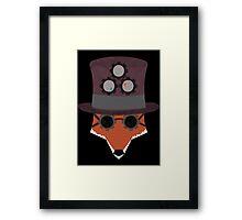 Fox EsSteam Framed Print