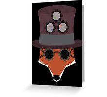 Fox EsSteam Greeting Card