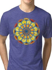 Star Power Mandala #2 T-Shirt Tri-blend T-Shirt