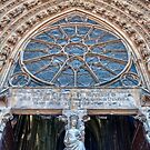 The Entrance to Reims Cathedral by Chris Vincent