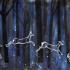 Dancing through the trees by emmaemuk