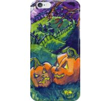 Spooky Pumpkins iPhone Case/Skin