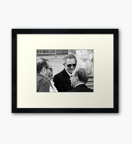 Los Amigos Framed Print