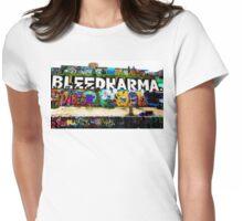 Street Art Womens Fitted T-Shirt