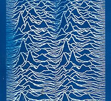 Joy Division Inspired Cyanotype by charliehsmith
