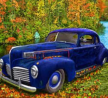 Autumn Jalopy - 1941 Hudson by kenmo