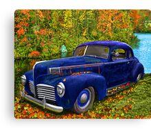 Autumn Jalopy - 1941 Hudson Canvas Print