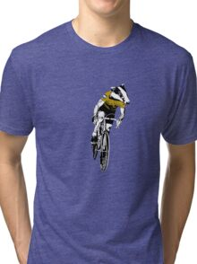 Bernard Hinault - The Badger Tri-blend T-Shirt