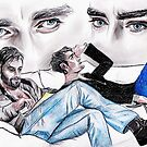 Richard Armitage, Lee Pace, Thorin and Thranduil by jos2507