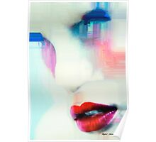 Red Lips Poster