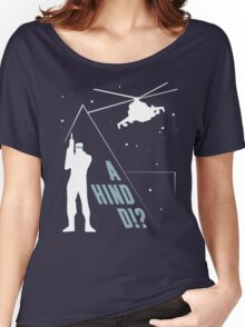 Metal Gear Solid - 'A Hind D!?' Mk.2 Women's Relaxed Fit T-Shirt