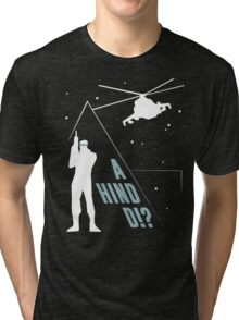 Metal Gear Solid - 'A Hind D!?' Mk.2 Tri-blend T-Shirt