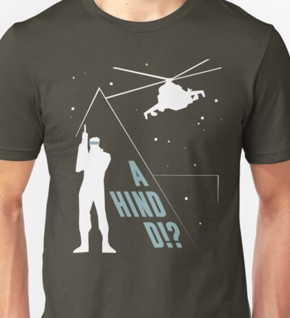 Metal Gear Solid - 'A Hind D!?' Mk.2 Unisex T-Shirt