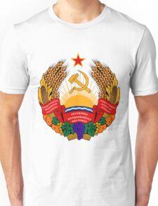 Transnistra UNTOUCHED | Europe Heraldry | SteezeFactory.com Unisex T-Shirt