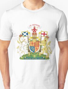 UK Scotland Coat Of Arms | SteezeFactory.com Unisex T-Shirt