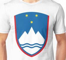 Slovenia | Europe Stickers | SteezeFactory.com Unisex T-Shirt