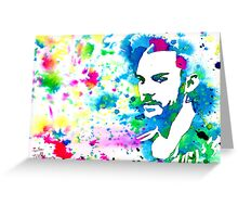 Splash - Shannon Leto (30 Seconds to Mars) Greeting Card