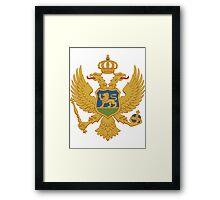 Montenegro | Europe Stickers | SteezeFactory.com Framed Print